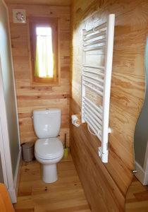 WC salle de bain roulotte.