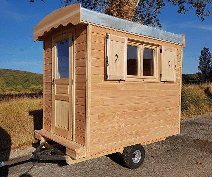 cabane de jardin mobile