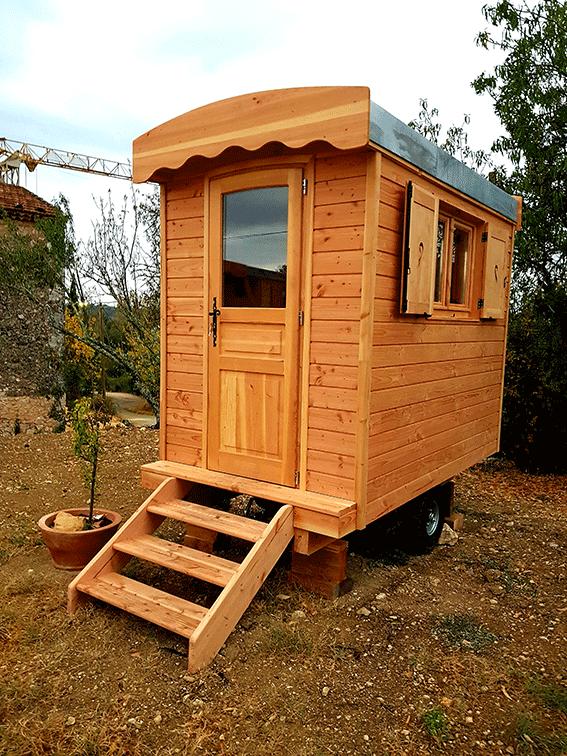 roulotte cabane de jardin