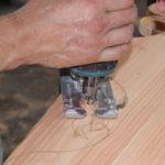 Fabrication frise bandeau roulotte