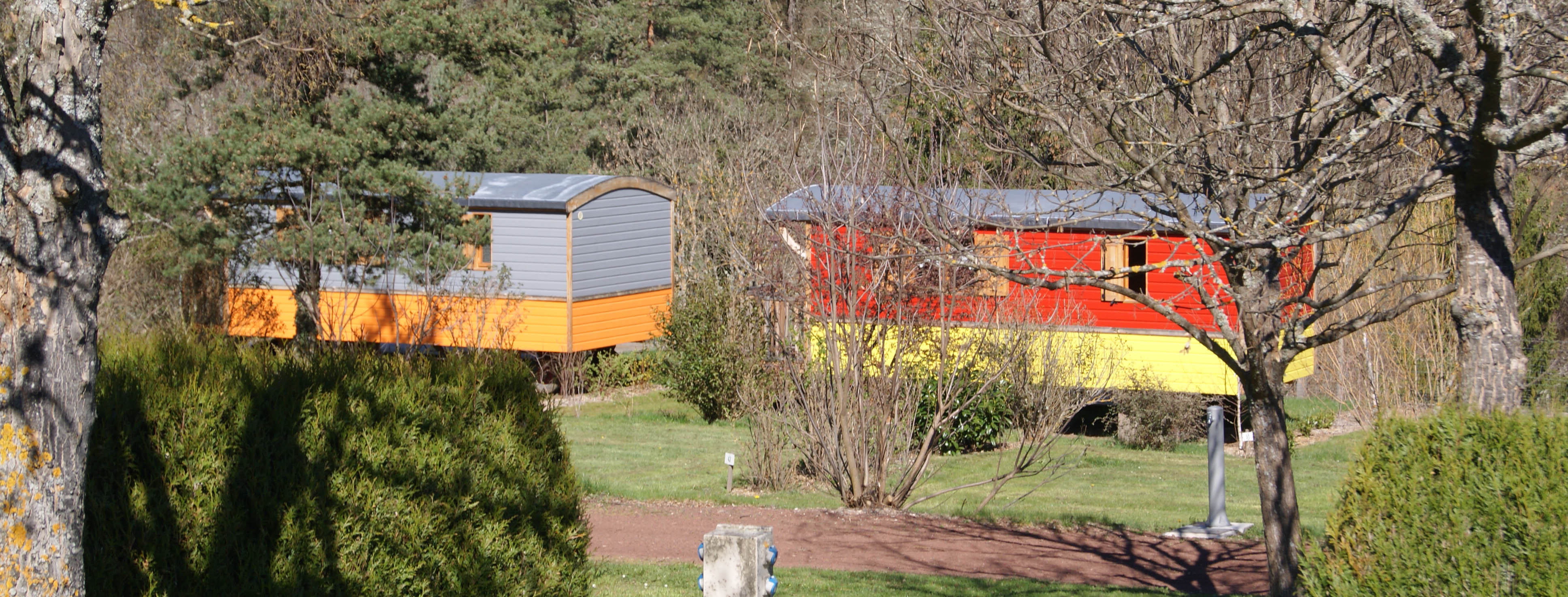 Roulottes mobiles camping