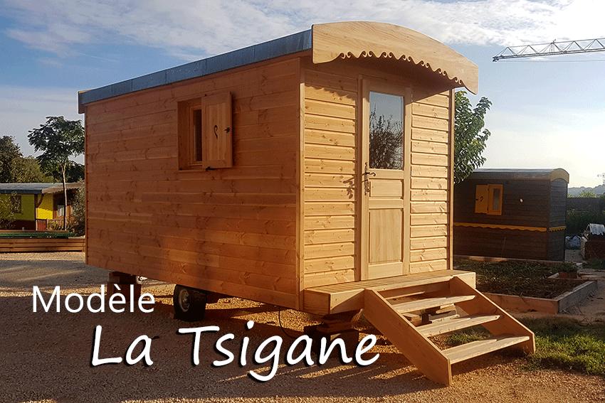 Modèle  roulotte La Tsigane by Roulottes Farigoule